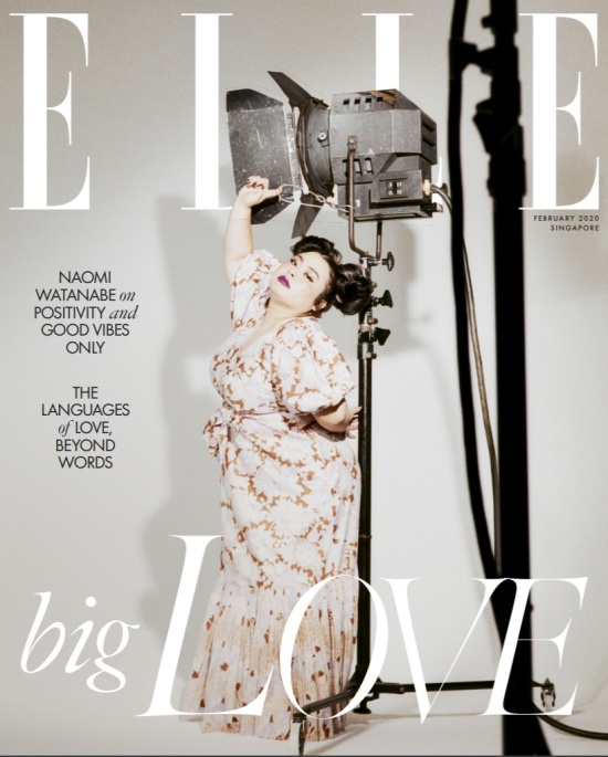 elle feb cover